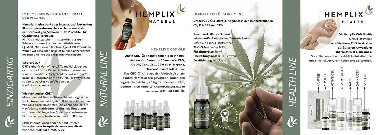 Hemplix Kundenfalzflyer Seite 2
